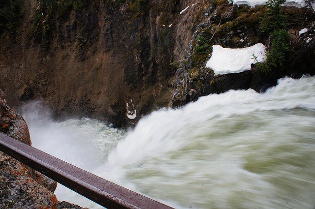 On the Brink of the Upper Falls
