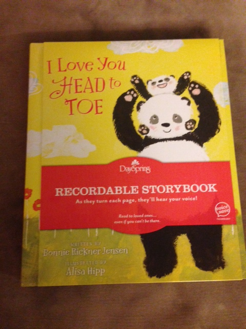 Recordable book
