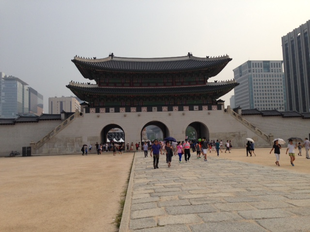 Gate to Gwanghwamun