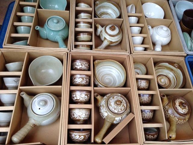 Celadon traditional pottery