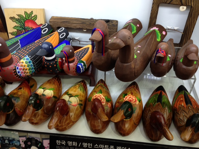 Korean Wedding ducks