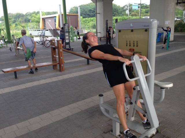 Whacky exercise machines