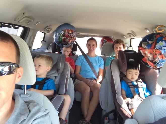 Van ride home