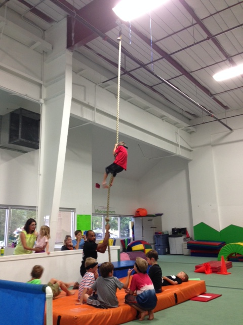 Climbing the rope