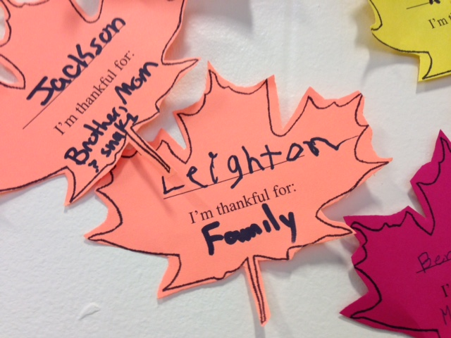 And Leighton's Leaf