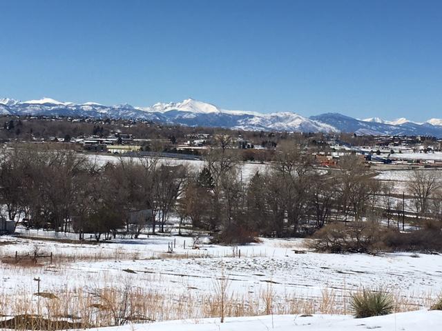 Beautiful clear Colorado Day