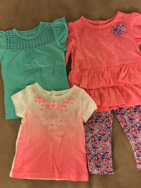 shirts and little outfit