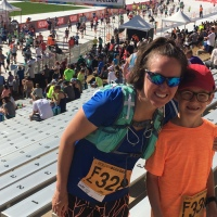 Bolder Boulder 2017-He Did It!
